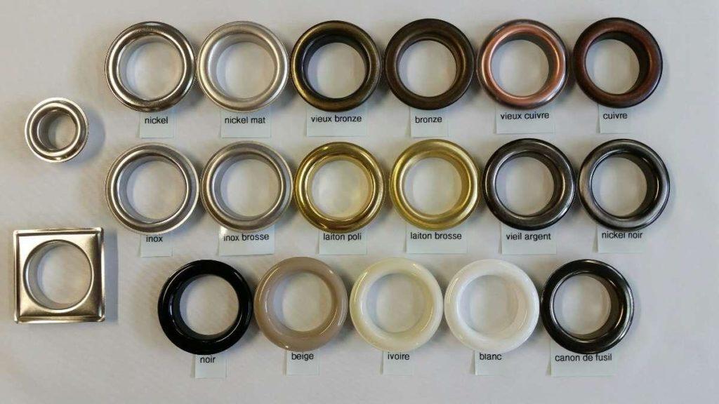 gamme coloris d'oeillets